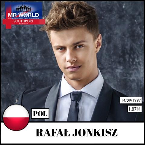 Rafał Jonkisz weźmie udział w konkursie Mr World w Londynie