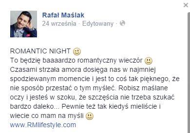 Rafa� Ma�lak zakochany! (FOTO)