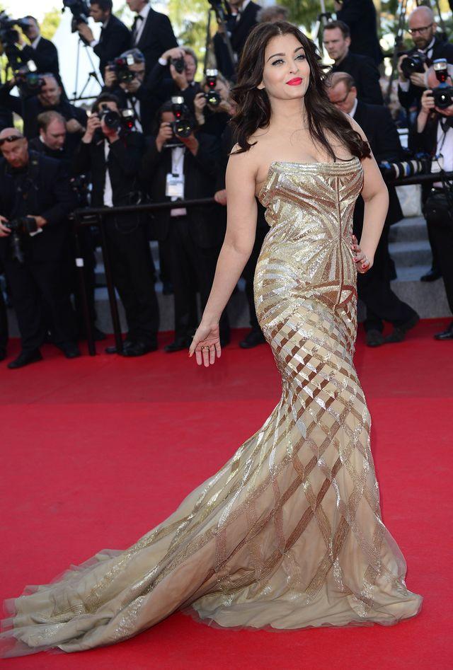 Aishwarya Rai schud�a i wraca do Cannes (FOTO)