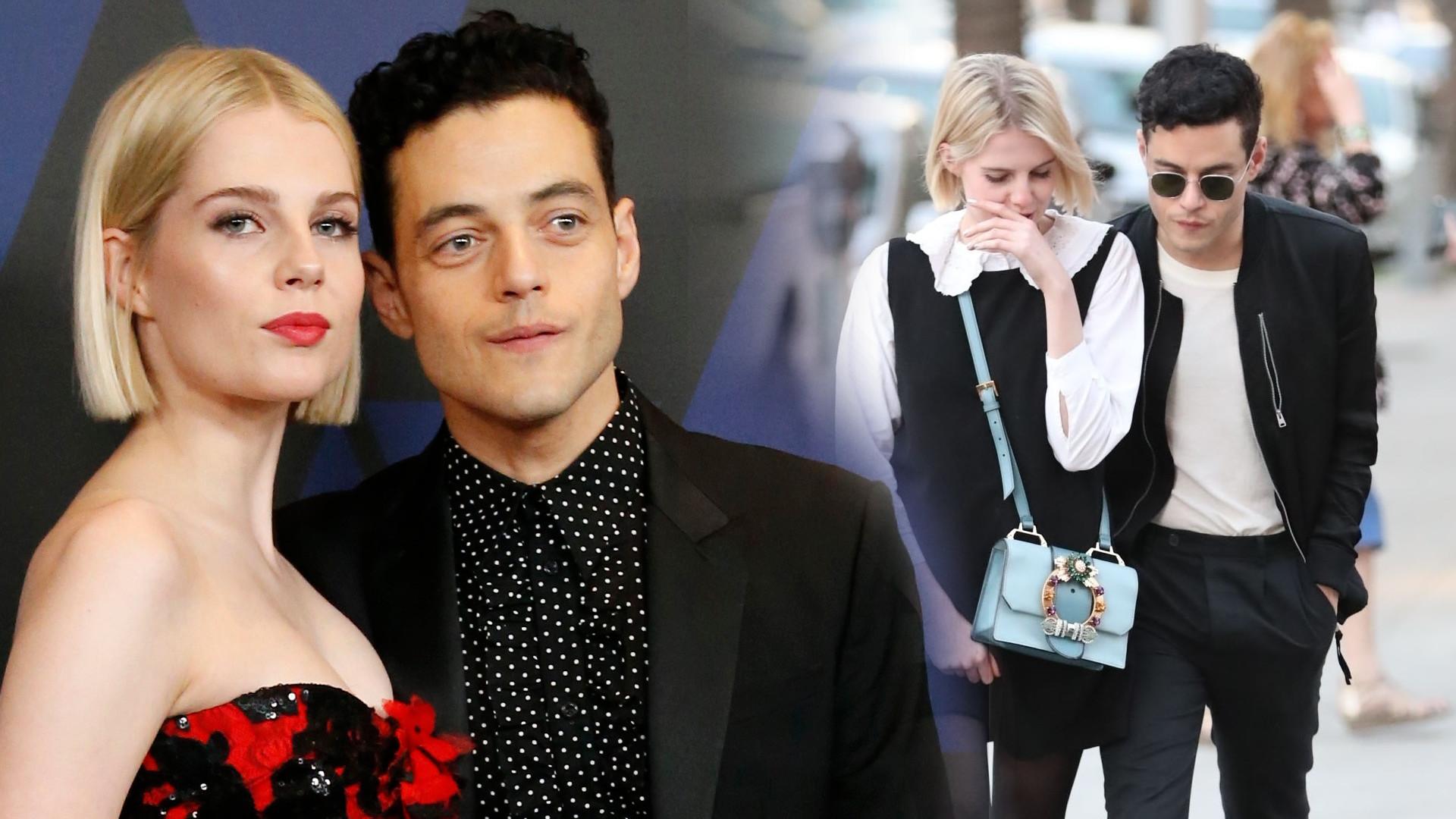 Rami Malek potwierdza związek z Lucy Boynton – poznali się na planie filmu