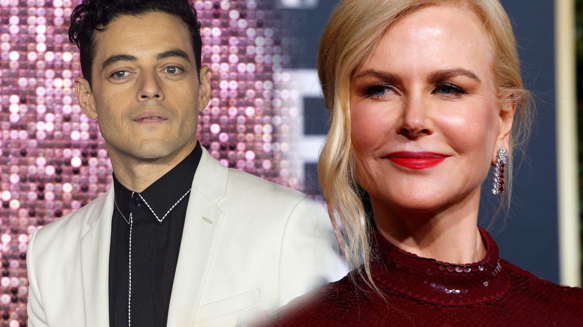 Rami Malek tłumaczy się z tego, co wydarzyło się między nim a Nicole Kidman