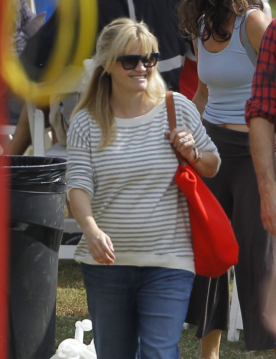 Reese Witherspoon z Jimem Thothem na pikniku (FOTO