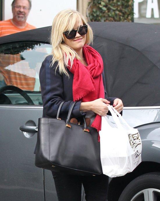Samochód Reese Witherspoon jak Renifer Rudolf (FOTO)