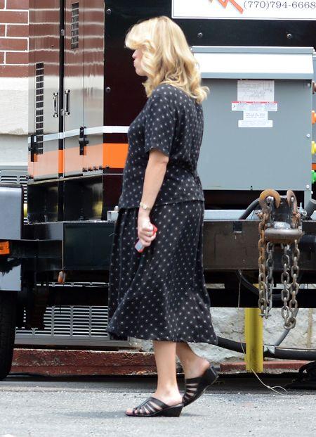 Reese Witherspoon wygąda na zmęczoną ciążą (FOTO)