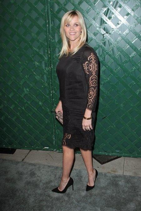 Reese Witherspoon nosi już luźne sukienki (FOTO)