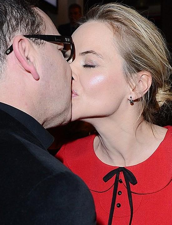 Zamachowski i Richardson całują się publicznie (FOTO)