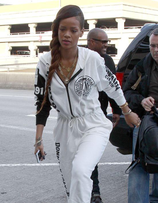 Rihanna nawet dres musi mieć markowy