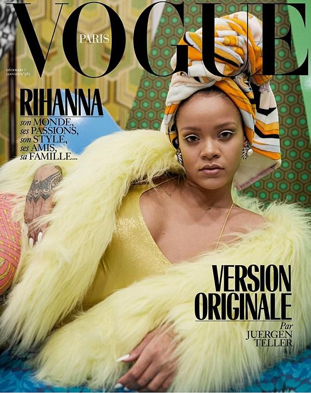 Rihanna na trzech okładkach francuskiego Vogue'a!