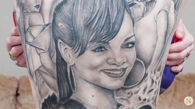 Rihanna skomentowała tatuaże swojej psychofanki