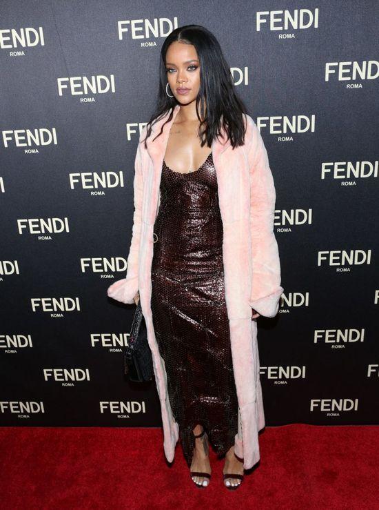 Rihanna otwarcie butiku Fendi opuściła w JEGO towarzystwie