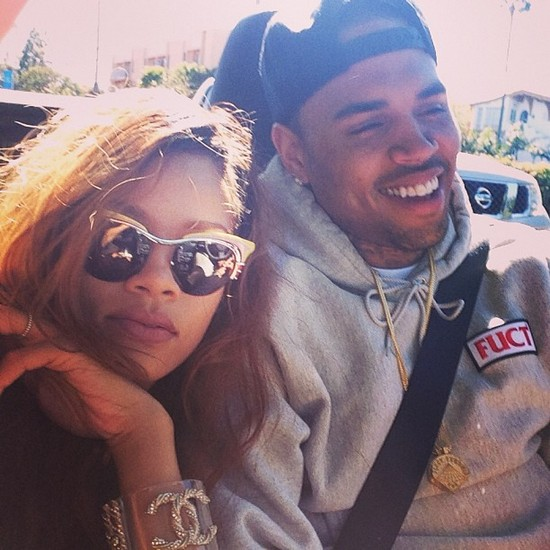 Rihanna i Chris Brown na romantycznej przeja�d�ce (FOTO)