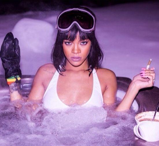 Rihanna urodziny spędziła w Aspen (FOTO)