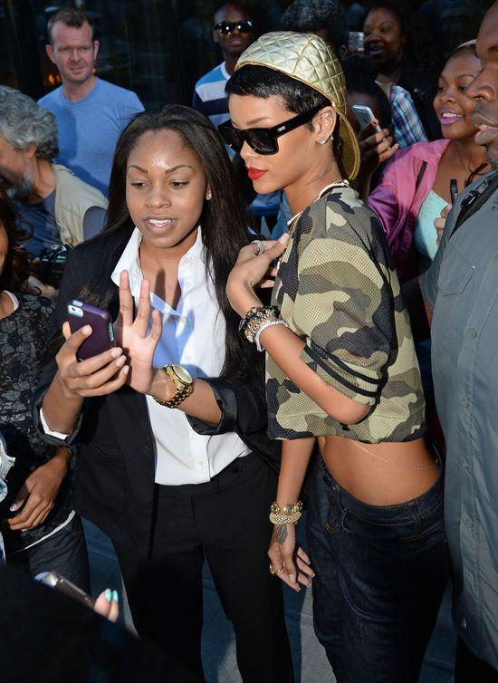 Rihanna zostanie drug� Victori� Beckham? (FOTO)
