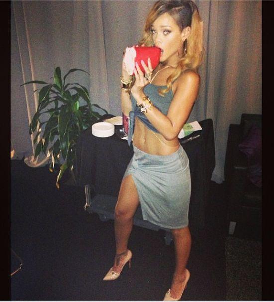 Rihanna chce przyty� (FOTO)