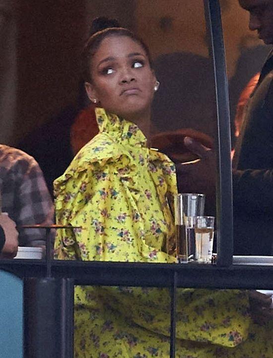 Niepocieszona Rihanna w Sztokholmie. Nikt się nią nie interesował?