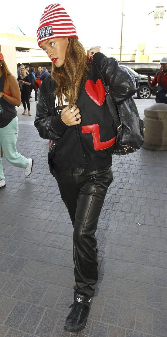 Rihanna została ikoną stylu (FOTO)