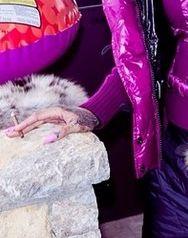 Rihanna bawi się w Aspen (FOTO)