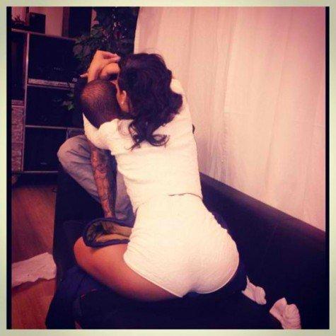 Kolejne intymne zdj�cie Rihanny i Chrisa Browna (FOTO)