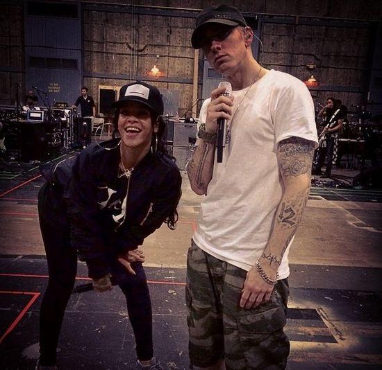 Rihanna i Eminem mają ROMANS?