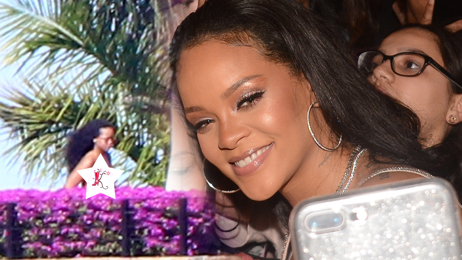 Rihanna w złotym bikini wypoczywa w Meksyku (ZDJĘCIA)
