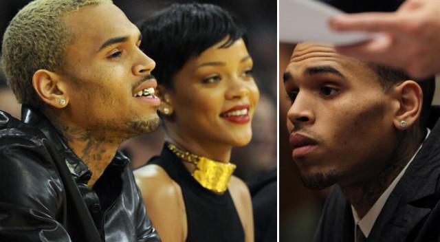 Chris Brown zdołowany plotkami o ciąży Rihanny