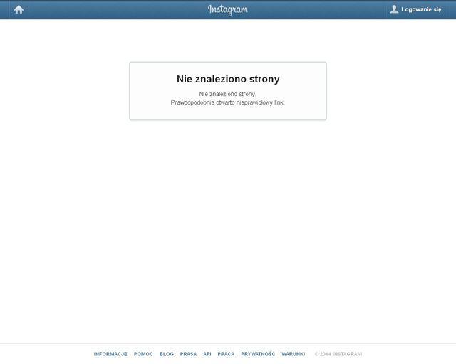 Afera sutkowa - zniknęło konto Rihanny na Instagramie