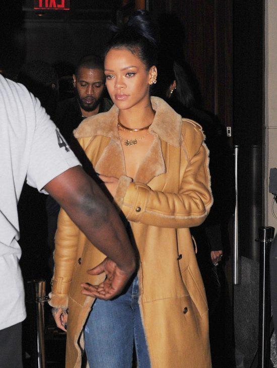 Rihanna z nowym chłopakiem wybrali się na galę boksu (FOTO)
