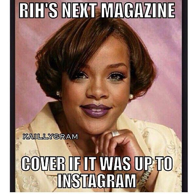Instagram ostrzega Rihannę i kasuje jej zdjęcia
