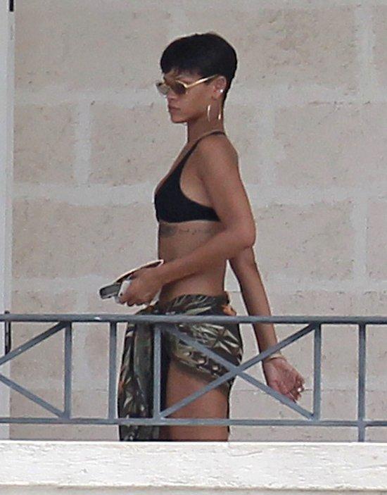 Riahnna w bikini na Barbadosie (FOTO)