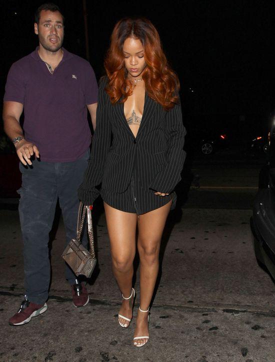 Rihanna na imprezie z byłym i obecnym chłopakiem (FOTO)