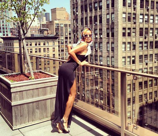 Rihanna prawie jak Marilyn Monroe (