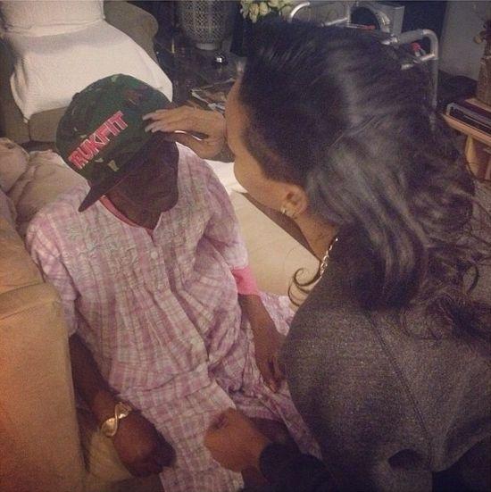 Rihannę wzięło na wspomnienia związane z babcią (FOTO)