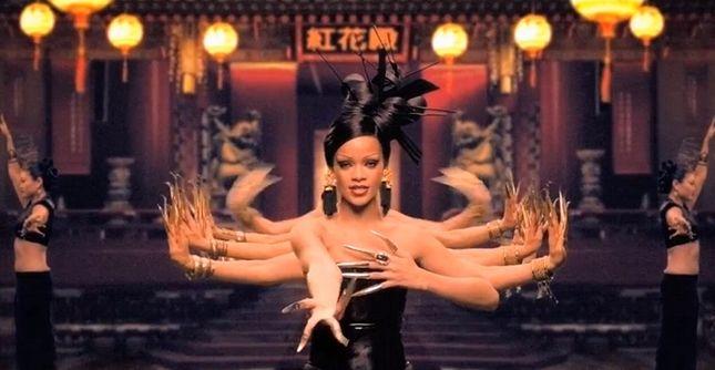 Rihanna jako chińska księżniczka