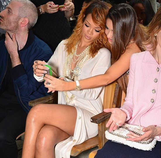 Rihanna na Paryskim Tygodniu Mody (FOTO)