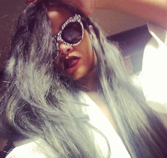 Rihanna ma szare w�osy! (FOTO)