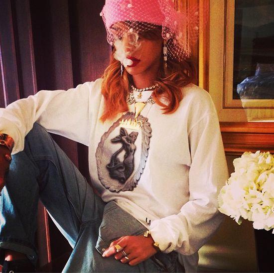 Rihanna i grube jointy (FOTO)