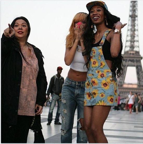 Jak Rihanna bawiła się w Paryżu? (FOTO)