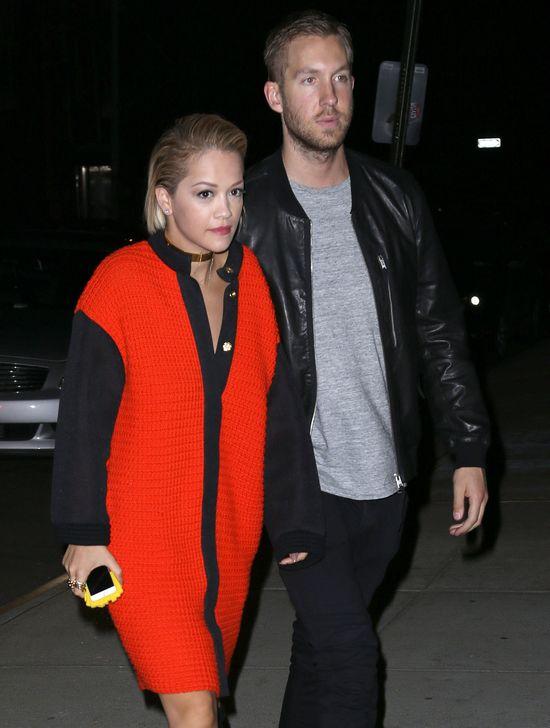 Niewyraźni Rita Ora i Calvin Harris na randce (FOTO)