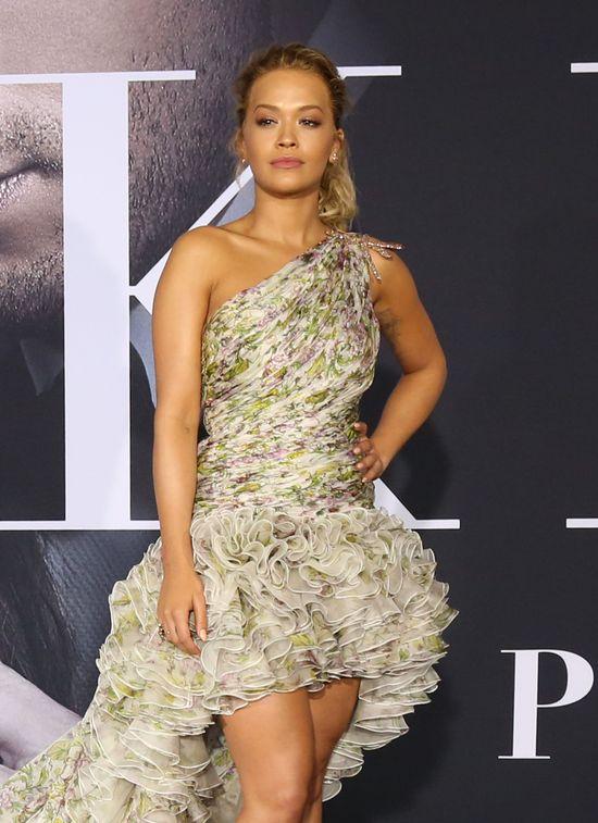 Rita Ora o pracy na planie Ciemniejszej Stony Greya