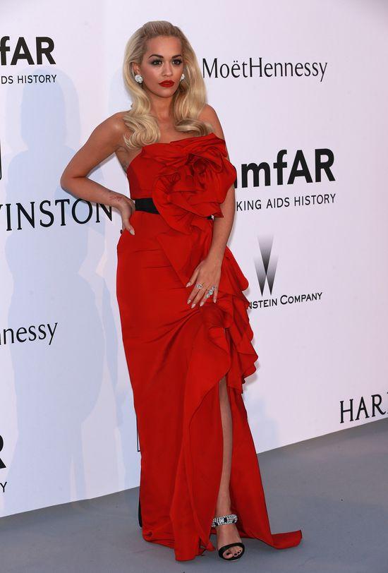 Rita Ora w kolejnej nietrafionej kreacji w Cannes