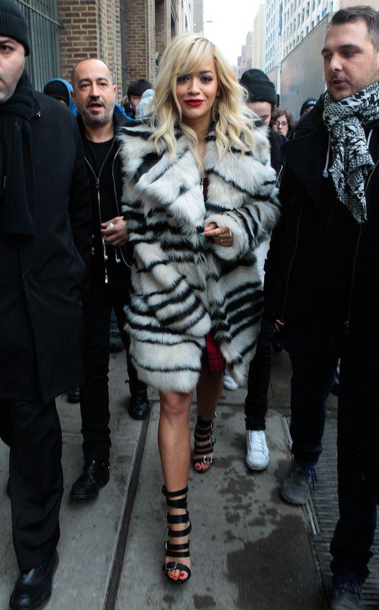 Rita Ora na NYFW (FOTO)