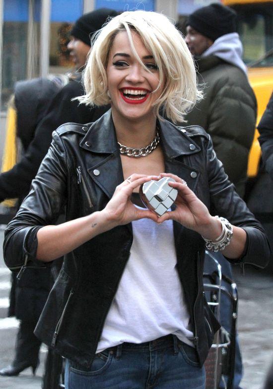Rita Ora na sesji dla DKNY (FOTO)
