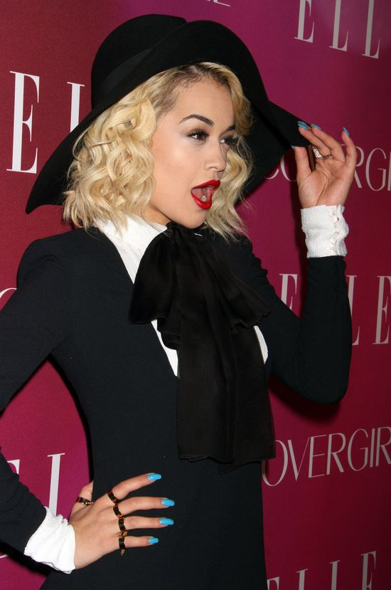 Rita Ora che mieć własną linię ubrań