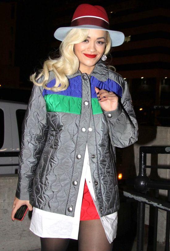 Rita Ora �mierdzia�a przez �wi�ta