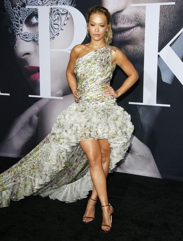 Rita Ora przyćmiła Dakotę Johnson na premierze Ciemniejszej strony Greya? (FOTO)