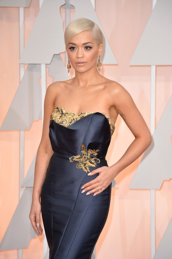Rita Ora zrobiła show na Oscarach (FOTO+VIDEO)