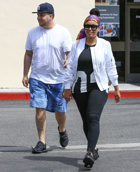 Blac Chyna nie chce widzie� Kim Kardashian na �lubie z Robem!