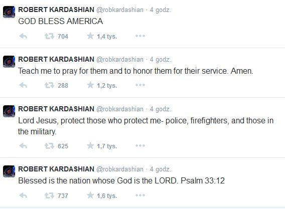 Rob Kardashian przerywa milczenie po �lubie siostry