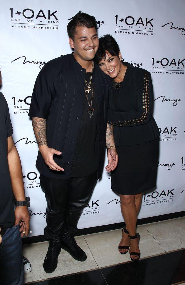 Powód, dla którego Rob Kardashian w końcu SCHUDNIE