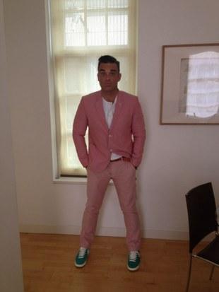 Zobaczcie przypakowanego Robbie'go Williamsa (FOTO)
